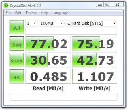 CrystalDiskMark - Disk benchmark software