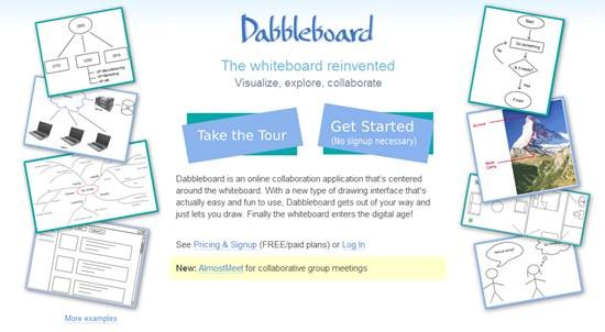 Dabbleboard free online collaborative whiteboard - Best Of