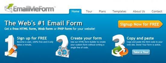 Email Me Form Top 13 online Form Building Apps