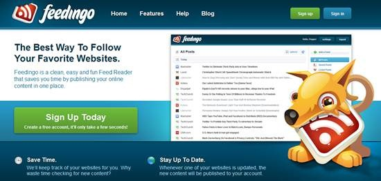 Feedingo rss feed reader