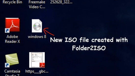 Folder2ISO - Create ISO Files From Any files