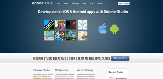 Gideros - Mobile application development tool