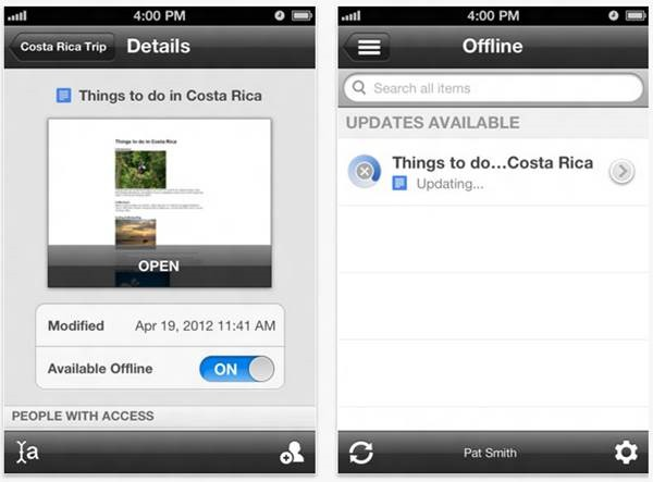 Google Drive apps for iPhone