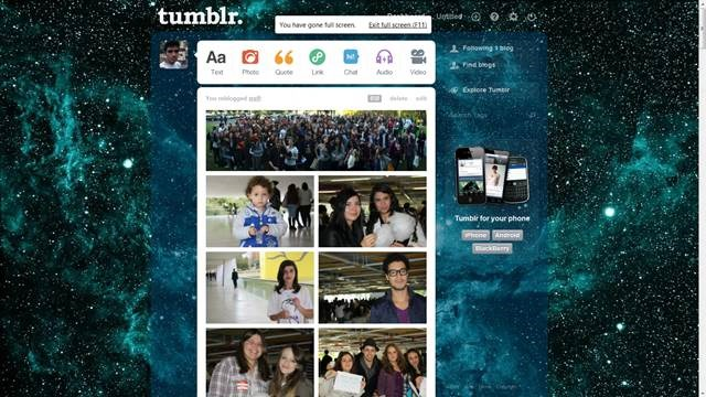 Hipster Fo Sho with space background 49 Useful Tumblr dashboard theme for Tumblr User
