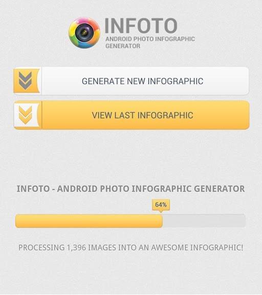InFoto Android Photo Infographic Generator
