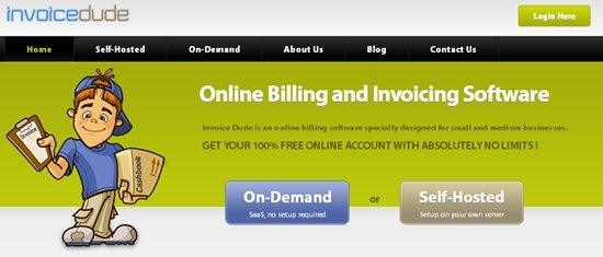 Invoice Dude invoicing software