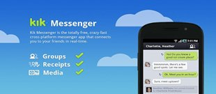 Kik Messenger - 14 Best Messaging Apps for Android Devices