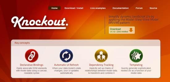 Knockout JavaScript library