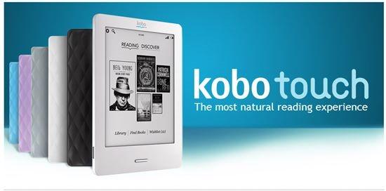 Kobo Touch - kindle alternative