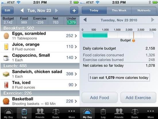 Lose It! Top 6 Health Related iPhone Apps