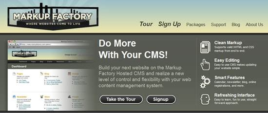 Markup Factory Hosted CMS