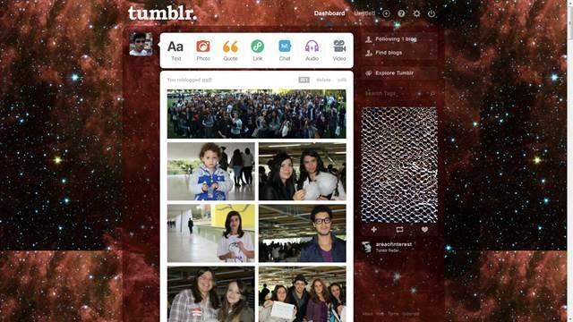 Maroon Space 49 Useful Tumblr dashboard theme for Tumblr User