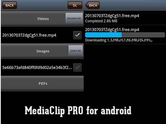 MediaClip PRO
