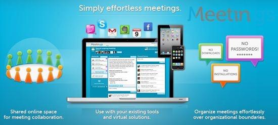 Meetin.gs online meeting platform