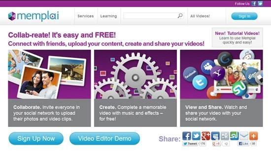Memplai video editing software