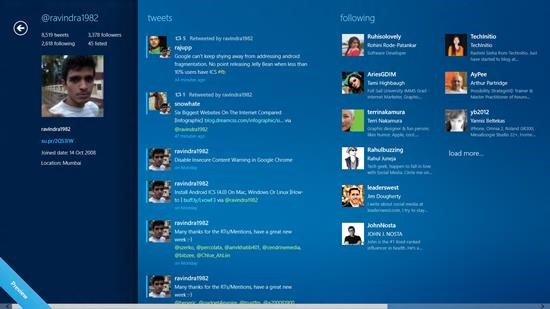 MetroTwit for windows 8 - Twitter client for Windows 8