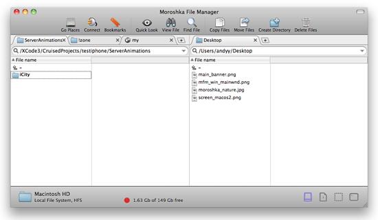 Moroshka File Manager
