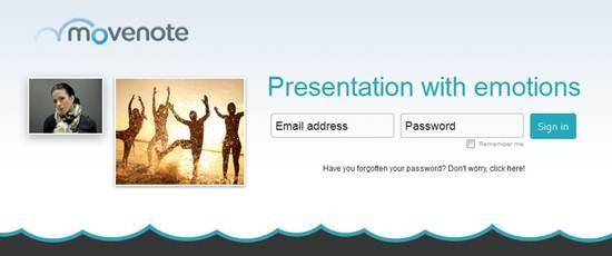 Movenote - Cloud based presentation tool