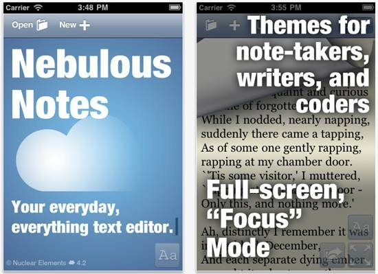 Nebulous Notes