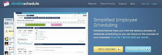 Nimbleschedule employee Scheduling Software