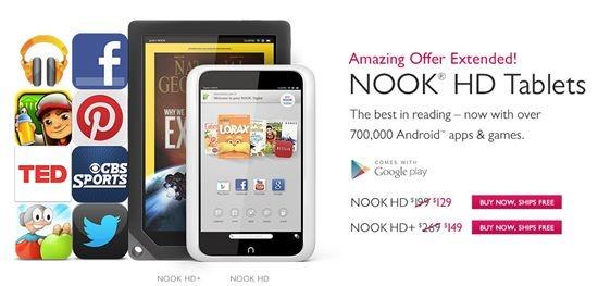 Nook tablet - Kindle Alternatives