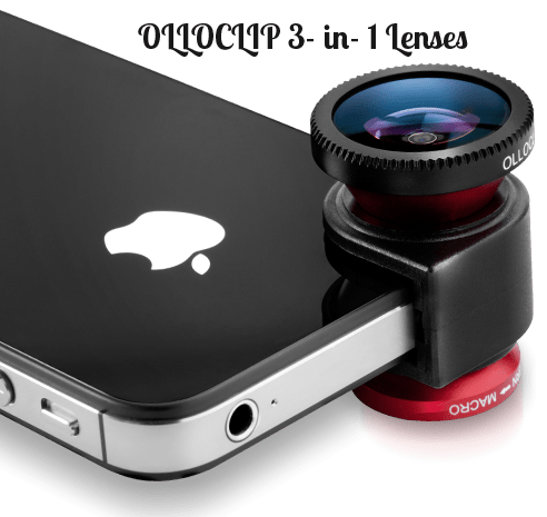 OLLOCLIP 3- in- 1 Lenses