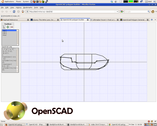 Openscad 10 useful Free alternative to AutoCAD