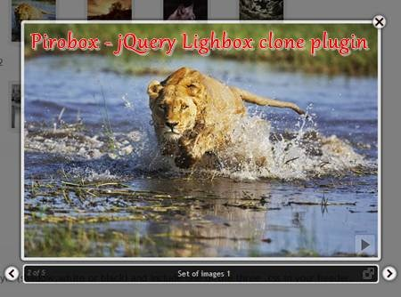 Pirobox - jQuery Lighbox