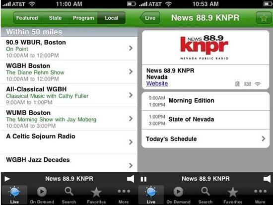 Public Radio Player - Radio Apps for iPhone
