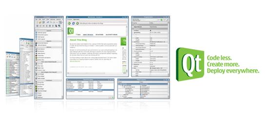 Qt – cross-platform application development and UI framework