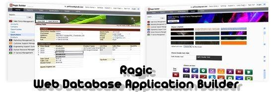Ragic Web Database Application Builder