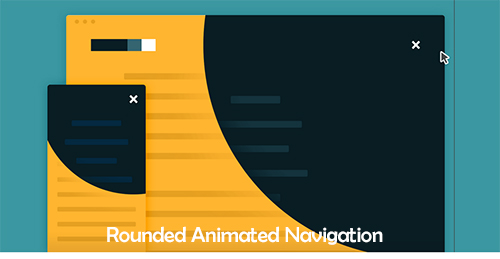Rounded Animated Navigation