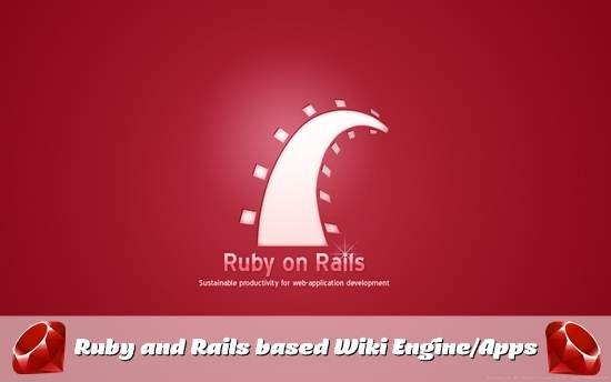 Ruby and Rails based Wiki Engine