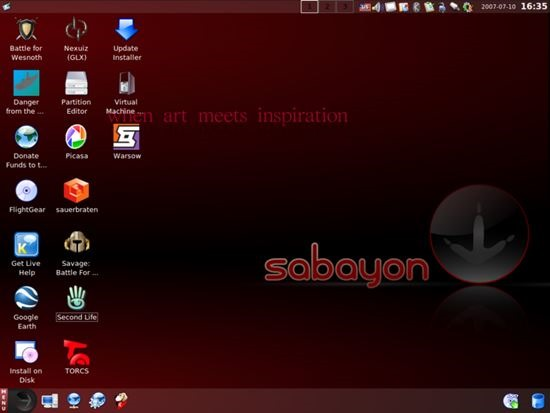 Sabayon 13 Best Open Source Operating Systems (Linux based)