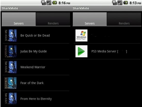 SharkMoteFree DLNA Streaming Apps For android
