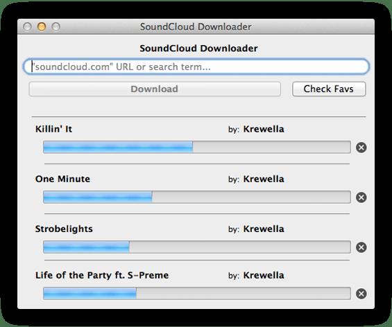 soundcloud herunterladen mac