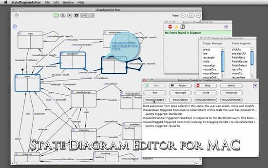 State Diagram Editor for MAC – Gadget Explorer