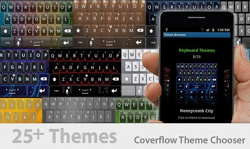 Thumb Keyboard for android 3