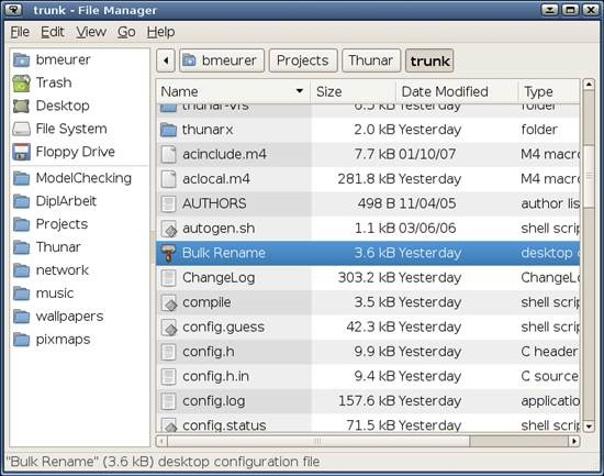 Thunar 10 Best Free Linux File Managers