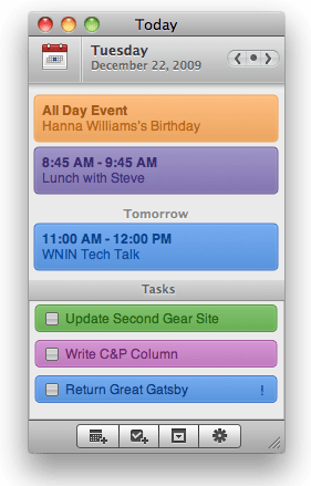 Today for Mac