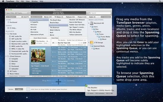 TuneSpan - Manage iTunes media Library on multiple drives (3)