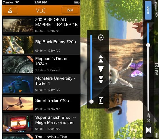 VLC for iPhone - Best Mobile video players for iPhone