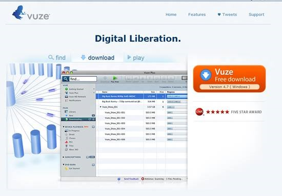 Vuze FTP Clients and File manager : 15 useful FTP client, file manager and File sharing tool