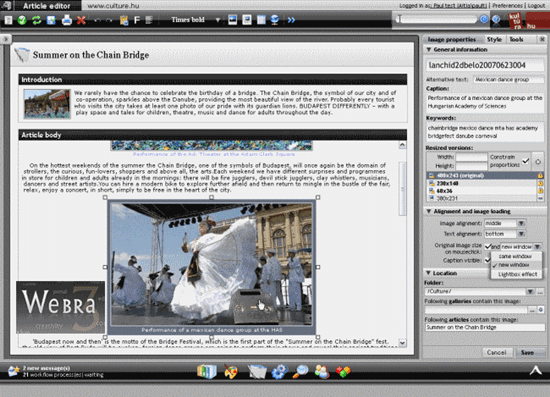 WEBRA 3.0 Content Management System