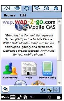 Wap-2-Go-mobile CMS