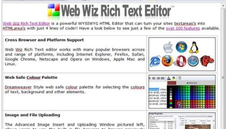 Cute Editor – WYSIWYG browser-based XHTML/HTML Editor for
