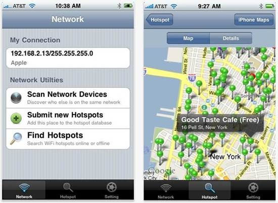 WiFiGet for iPhone 5 Best wifi apps for iPhone