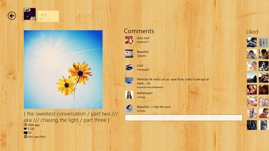 Wingram - Windows 8 App for Instagram 2