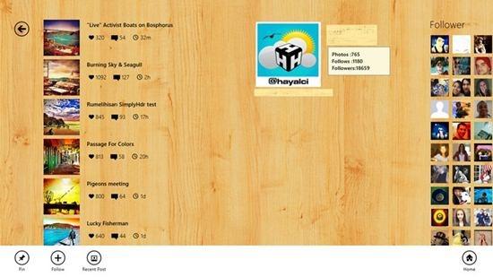 Wingram - Windows 8 App for Instagram 4