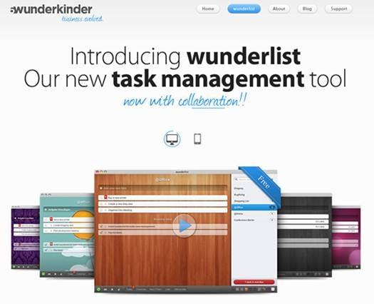 Wunderlist- free task manager